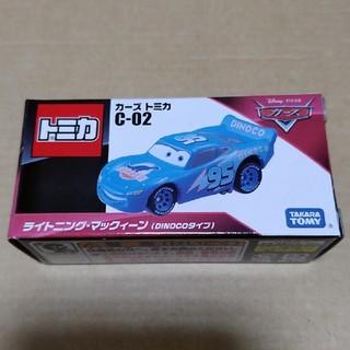 タカラトミー(Takara Tomy)のカーズトミカ C-02 ライトニング•マックィーン(DINOCOタイプ)(ミニカー)