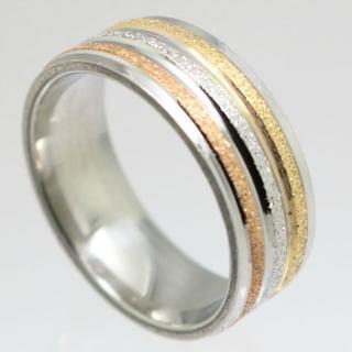 トリプルキラキララインステンレスリング 26号 新品(リング(指輪))