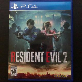 プレイステーション4(PlayStation4)のResident Evil 2 北米版 中古(家庭用ゲームソフト)