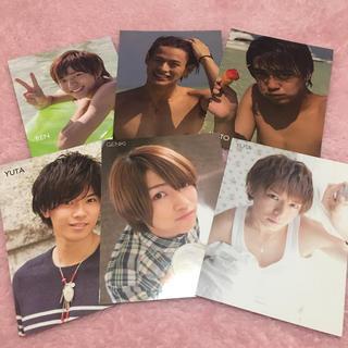 ジャニーズ(Johnny's)のキンプリ m誌 厚紙生カード セット(アイドルグッズ)