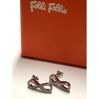 フォリフォリ(Folli Follie)のフォリフォリ   シルバーピアス❤︎(ピアス)