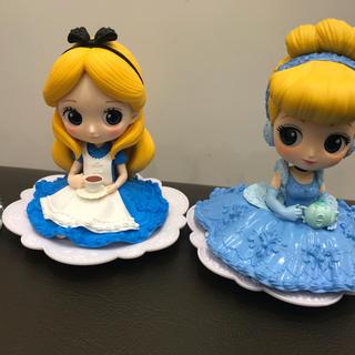ディズニー(Disney)のバンプレストQ posket  Disney Alice-Cinderella(キャラクターグッズ)