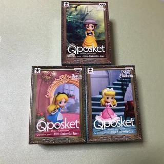ディズニー(Disney)のQposket アリス ジェーン シンデレラ 3点セット(キャラクターグッズ)