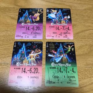 ディズニー(Disney)の東京ディズニーリゾート リゾートライン フリーきっぷ ワンスアポンアタイム柄(その他)