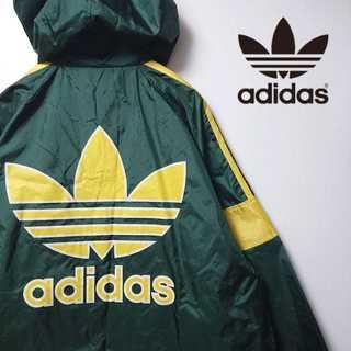 アディダス(adidas)の【レア】 90s アディダス ナイロンジャケット パーカー デサント 318(ナイロンジャケット)