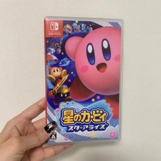 ニンテンドースイッチ(Nintendo Switch)の【美品】星のカービィ スターアライズ(Nintendo Switch)(家庭用ゲームソフト)