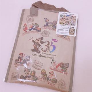ディズニー(Disney)のディズニーランド35周年✩ミッキーマウス✩レジャーシート(キャラクターグッズ)