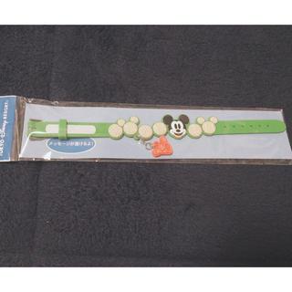 ディズニー(Disney)の【新品未開封】 ディズニーリゾート限定 ミッキーマウス リストバンド テニス(キャラクターグッズ)