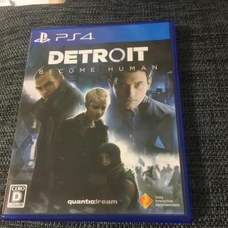 プレイステーション4(PlayStation4)のデトロイトビカムヒューマン(家庭用ゲームソフト)