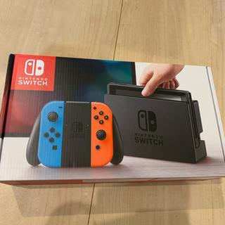 ニンテンドースイッチ(Nintendo Switch)のNINTENDOswitch本体 未使用(家庭用ゲーム本体)