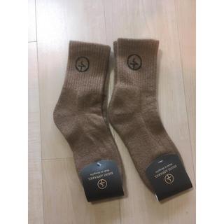 2点セット高級モンゴル産100%キャメルウール靴下 冷え性にオススメ(ソックス)