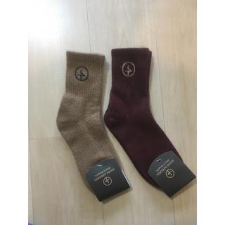 2点セット 高級モンゴル産キャメルと羊ウール靴下 冷え性にオススメ(ソックス)