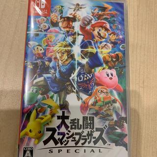 ニンテンドースイッチ(Nintendo Switch)の大乱闘スマッシュブラザーズSpecial 未開封 ソフト(家庭用ゲームソフト)