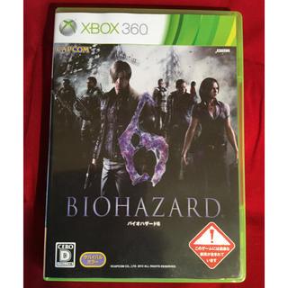 エックスボックス360(Xbox360)の送料込 Xbox360 バイオハザード 6 レジデントイービル6(家庭用ゲームソフト)