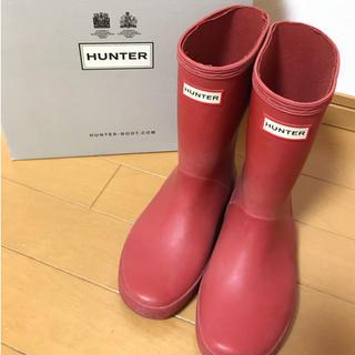 ハンター(HUNTER)のHunter レインブーツ キッズ(長靴/レインシューズ)