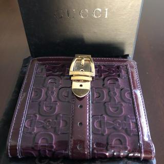 グッチ(Gucci)のお値下げ☆GUCCI 二つ折り財布(財布)