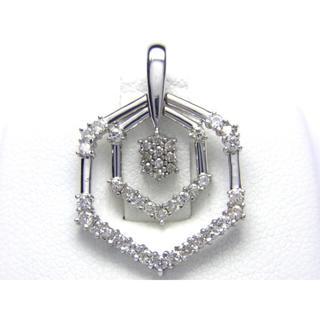 K18 0.52ct ダイヤモンド ペンダント トップ(ネックレス)