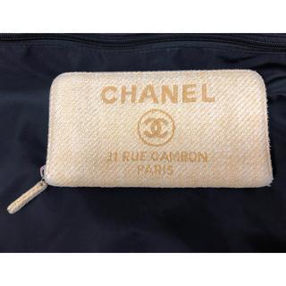 シャネル(CHANEL)のCHANEL シャネル 財布 ドーヴィル ラウンドファスナー(財布)