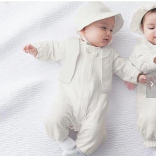 ベルメゾン ベビードレス 新生児用 50〜60(セレモニードレス/スーツ)