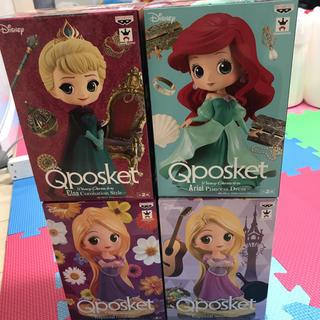 ディズニー(Disney)のディズニーフィギュア Qposket set(キャラクターグッズ)
