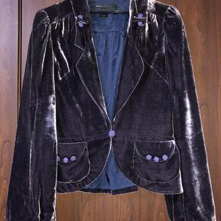 マークジェイコブス(MARC JACOBS)のマークジェイコブスのベロアジャケット(テーラードジャケット)