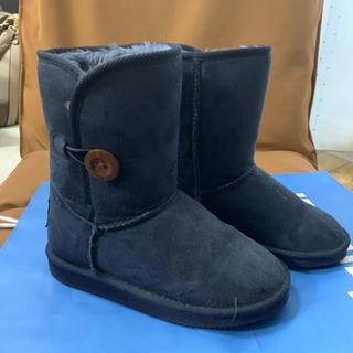 ヴァンズ(VANS)の子供用ブーツ19cm紺(ブーツ)