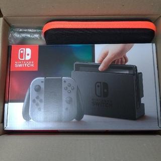 ニンテンドースイッチ(Nintendo Switch)の任天堂switch スイッチ グレー(家庭用ゲーム本体)