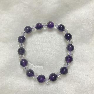 パワーストーン(紫)(ブレスレット/バングル)