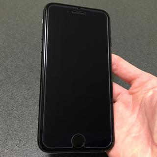 アイフォーン(iPhone)の即購入OK 美品 SIMフリー iPhone7 128GB jetblack(スマートフォン本体)
