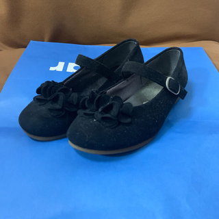 ファミリア(familiar)のファミリア靴19cm黒(フォーマルシューズ)