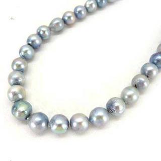 ミツコシ(三越)のパール 真珠 シルバー ピーコックロング ネックレス(ネックレス)