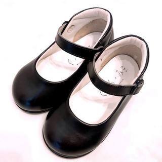 ファミリア(familiar)のくるみ フォーマル靴 14㎝ +ファミリア 靴下 13〜14㎝ お受験 お教室(フォーマルシューズ)