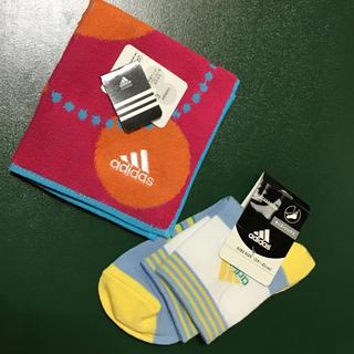 アディダス(adidas)のアディダス ハンカチタオル ソックス(ハンカチ)