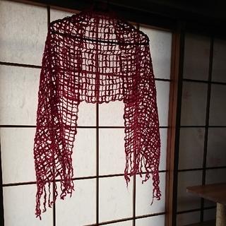 毛糸のストール(マフラー/ストール)