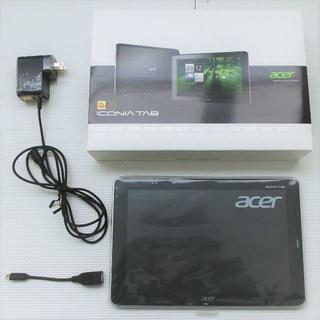 エイサー(Acer)のタブレットPC A700-S16S(タブレット)