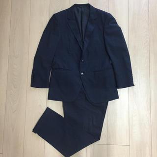 コナカスーツ アンプレッシャー ネイビー 濃紺 チェック セットアップ(セットアップ)
