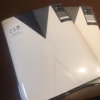 ニジュウサンク(23区)の23区 新品 ストッキング 二足セット(タイツ/ストッキング)