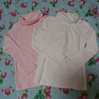 エイチアンドエム(H&M)のタートルネック2枚セット(Tシャツ/カットソー)