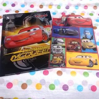ディズニー(Disney)のカーズ☆クリアファイル&下敷き セット(クリアファイル)