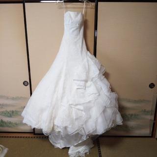 オフホワイト ウエディングドレス(1)
