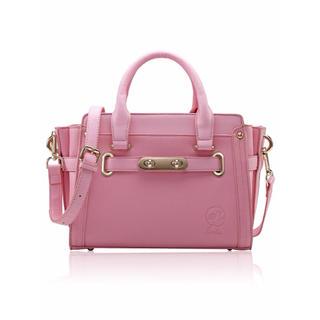 Barbie バービー クラシックシリーズPUレザーハンドバッグショルダーバッグ(ショルダーバッグ)
