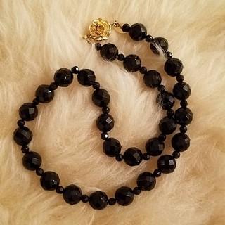 ヴァンドームブティック ネックレス ブラックカラー(ネックレス)
