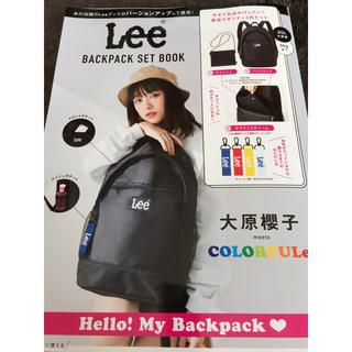 リー(Lee)のLeeバックパックセット ブラックver.(リュック/バックパック)