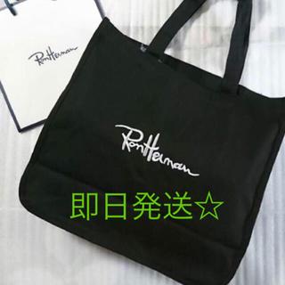 ロンハーマン(Ron Herman)のロンハーマントートバッグ☆ブラック(トートバッグ)