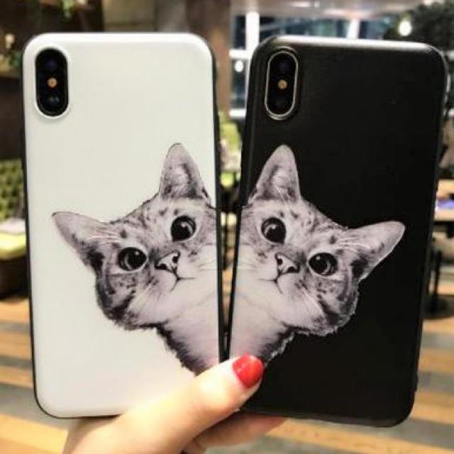 iphone7 ケース 丈夫 | 猫ちゃん柄  ☆新品☆  iPhoneケース  ☆  7/8/Xの通販 by matsuhana's shop|ラクマ