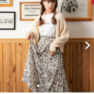 シマムラ(しまむら)の【タグつき新品】大人気 しまむら レオパードスカート(ロングスカート)