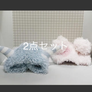 ジェラートピケ(gelato pique)の★新品タグ付き★ ガールズモンスターヘアバンドセット(ヘアバンド)