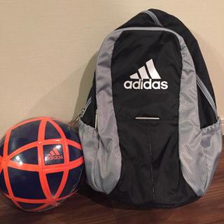アディダス(adidas)の新品未使用 adidasリュック&サッカーボール(その他)