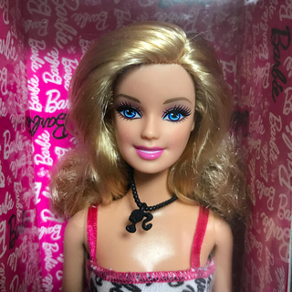 バービー(Barbie)のバービー人形 Barbie オマケ付き(Barbieホテルの限定スリッパ)(ぬいぐるみ/人形)