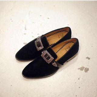 トーガ(TOGA)の2/18まで限定出品 TOGA PULLA メタルバックル シューズ ベルト 靴(ローファー/革靴)
